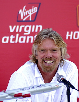 Populations that richard branson virginity being comfortable